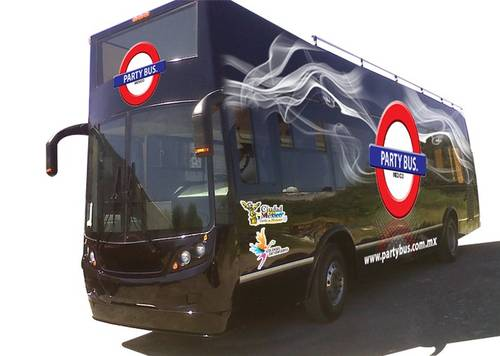 Partybus: festejo al estilo México.